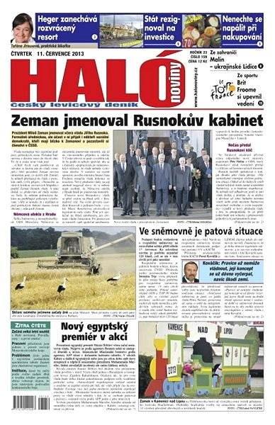 Haló noviny - 11_07_2013 - Elektronické noviny