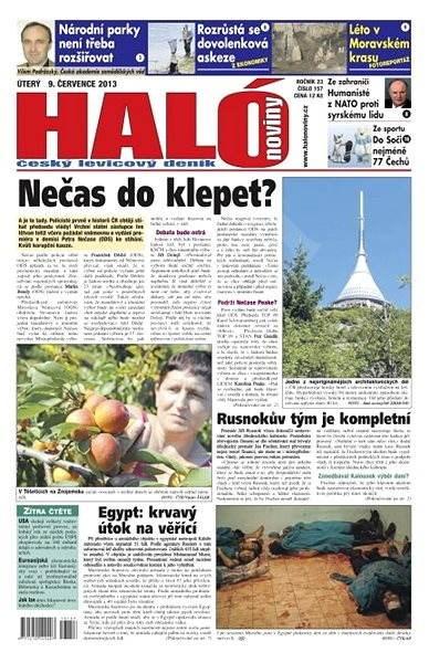 Haló noviny - 09_07_2013 - Elektronické noviny