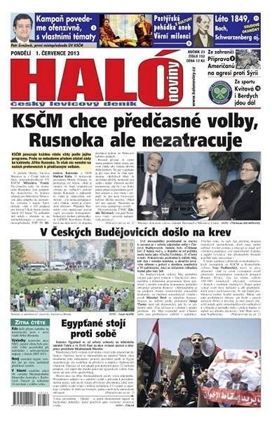 Haló noviny - 01_07_2013 - Elektronické noviny