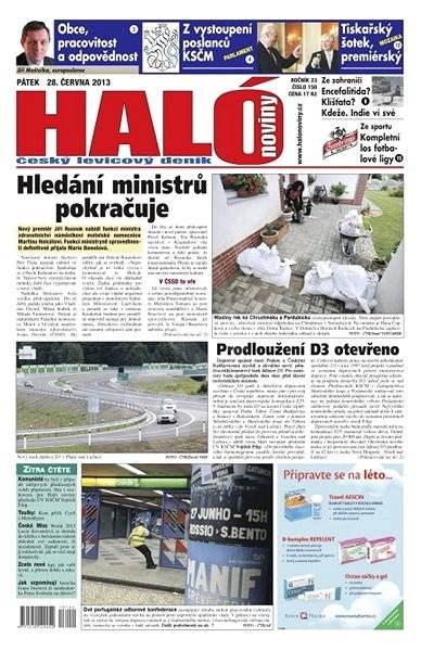 Haló noviny - 28_06_2013 - Elektronické noviny