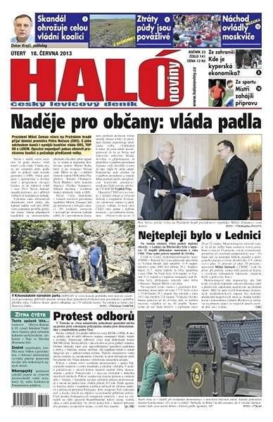 Haló noviny - 18_06_2013 - Elektronické noviny