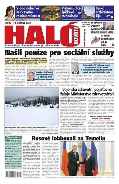 Haló noviny - 28_05_2013 - Elektronické noviny