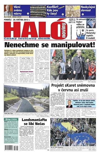Haló noviny - 20_05_2013 - Elektronické noviny