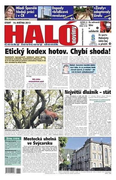 Haló noviny - 14_05_2013 - Elektronické noviny