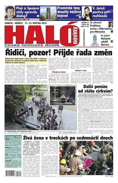 Haló noviny - 11_05_2013 - Elektronické noviny