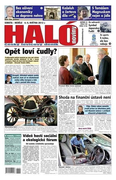 Haló noviny - 04_05_2013 - Elektronické noviny