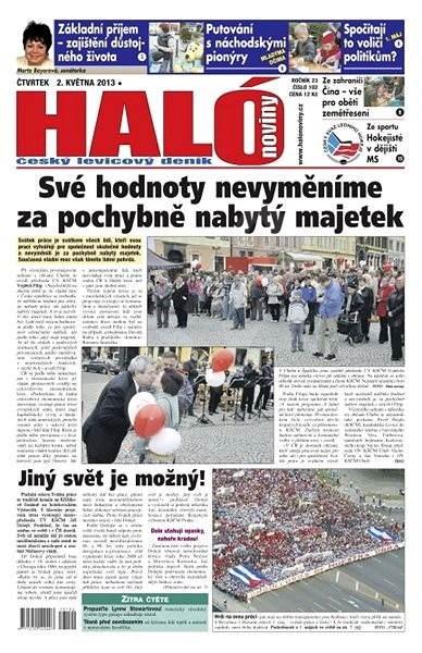 Haló noviny - 02_05_2013 - Elektronické noviny