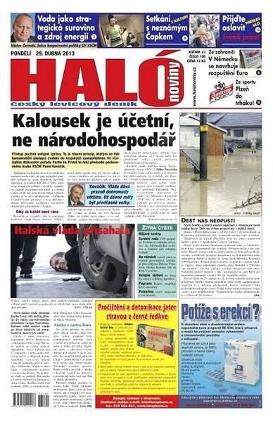 Haló noviny - 29_04_2013 - Elektronické noviny
