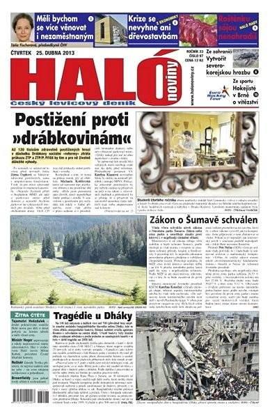 Haló noviny - 25_04_2013 - Elektronické noviny