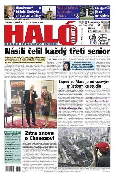 Haló noviny - 13_04_2013 - Elektronické noviny