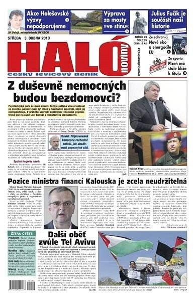 Haló noviny - 03_04_2013 - Elektronické noviny