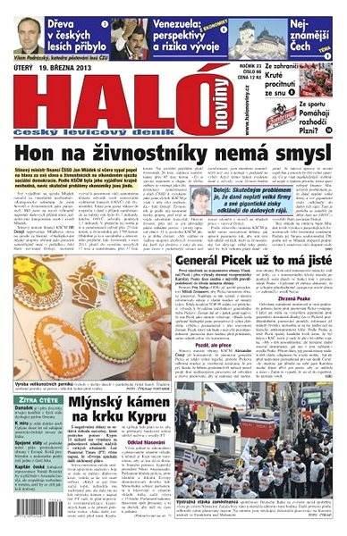 Haló noviny - 19_03_2013 - Elektronické noviny