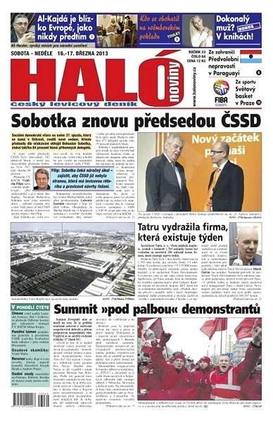 Haló noviny - 16_03_2013 - Elektronické noviny