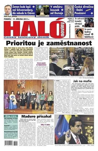 Haló noviny - 11_03_2013 - Elektronické noviny