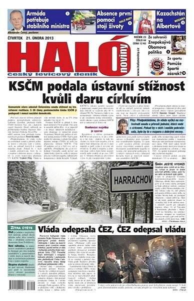 Haló noviny - 21_02_2013 - Elektronické noviny