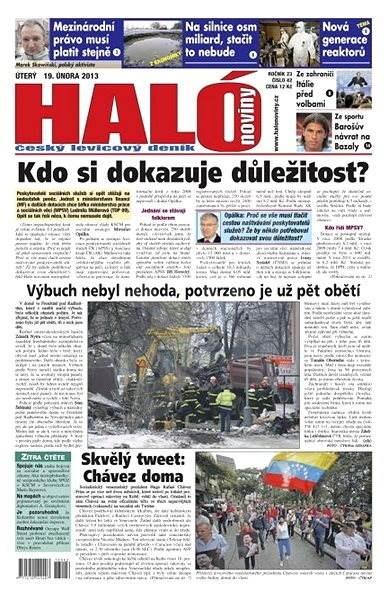 Haló noviny - 19_02_2013 - Elektronické noviny