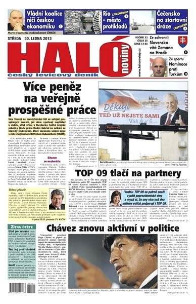 Haló noviny - 30_01_2013 - Elektronické noviny