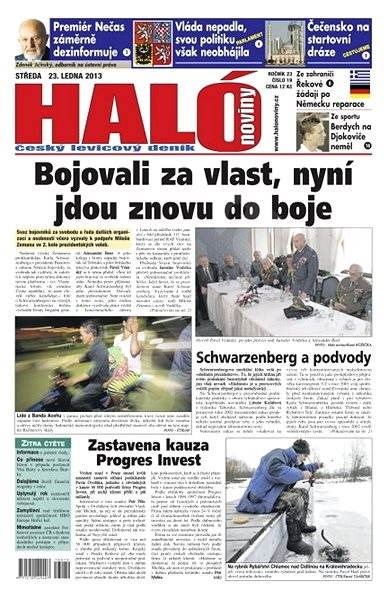 Haló noviny - 23_01_2013 - Elektronické noviny