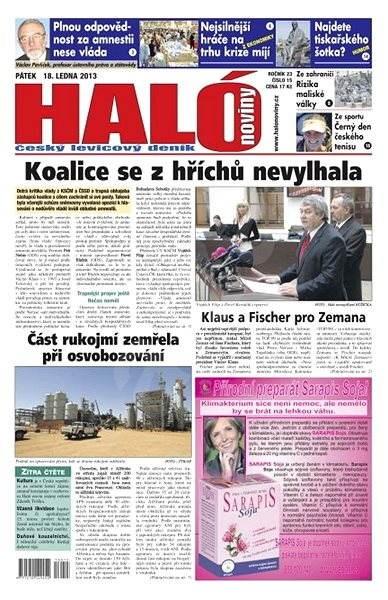 Haló noviny - 18_01_2013 - Elektronické noviny