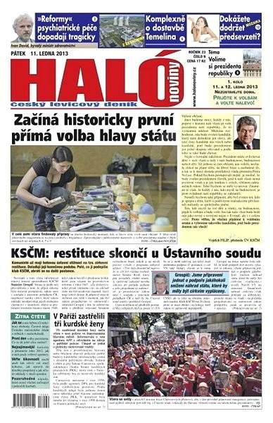 Haló noviny - 11_01_2013 - Elektronické noviny