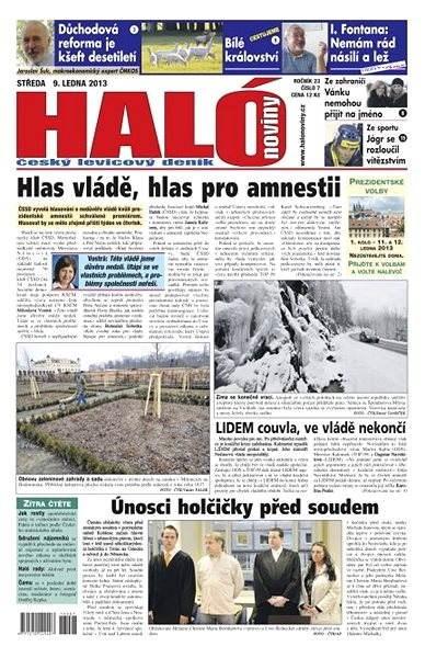 Haló noviny - 09_01_2013 - Elektronické noviny