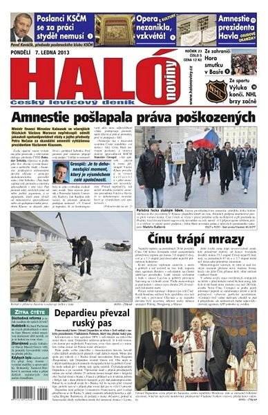 Haló noviny - 07_01_2013 - Elektronické noviny