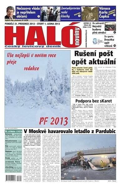 Haló noviny - 31_12_2012 - Elektronické noviny