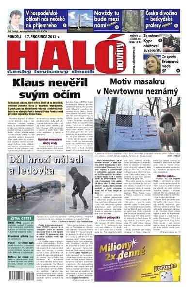 Haló noviny - 17_12_2012 - Elektronické noviny