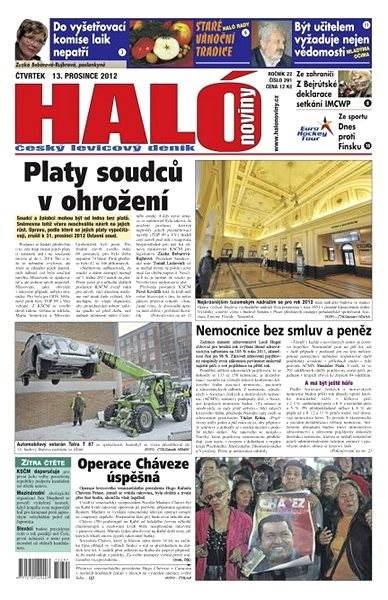Haló noviny - 13_12_2012 - Elektronické noviny