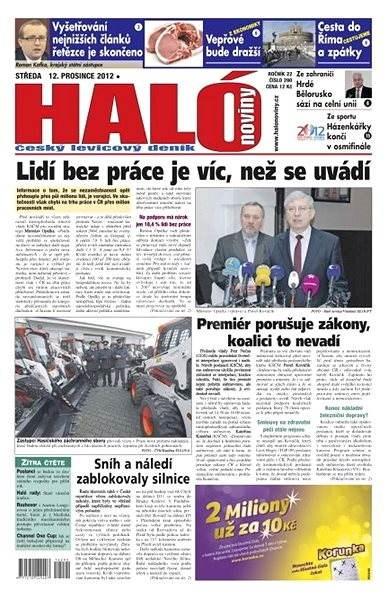 Haló noviny - 12_12_2012 - Elektronické noviny