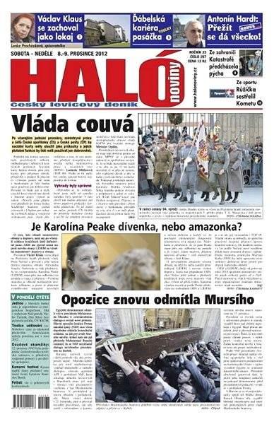 Haló noviny - 08_12_2012 - Elektronické noviny