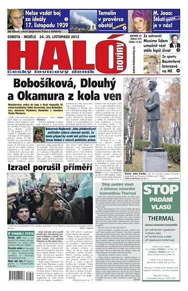 Haló noviny - 24_11_2012 - Elektronické noviny