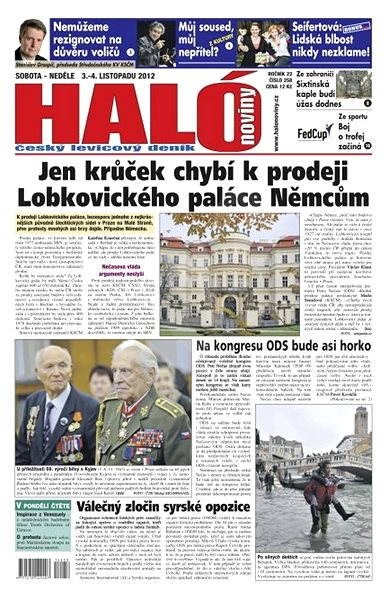 Haló noviny - 03_12_2012 - Elektronické noviny