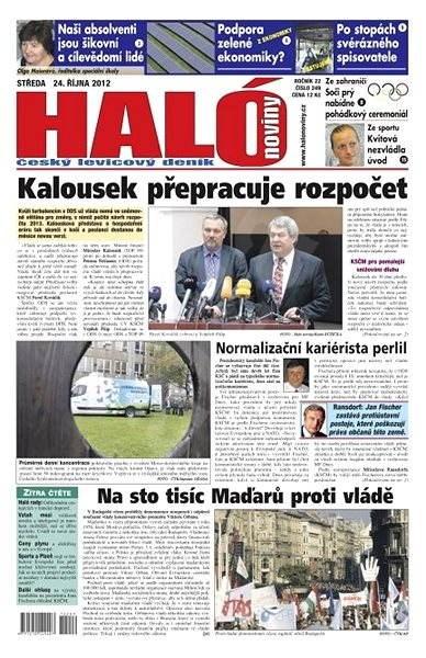 Haló noviny - 24_10_2012 - Elektronické noviny