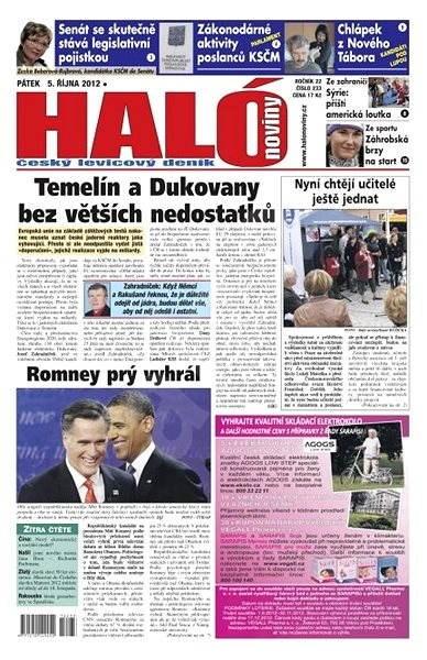Haló noviny - 05_10_2012 - Elektronické noviny