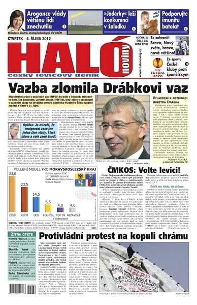 Haló noviny - 04_10_2012 - Elektronické noviny