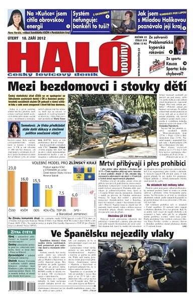 Haló noviny - 18_09_2012 - Elektronické noviny