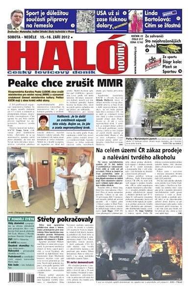 Haló noviny - 15_09_2012 - Elektronické noviny