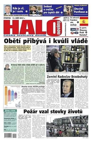 Haló noviny - 13_09_2012 - Elektronické noviny