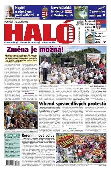 Haló noviny - 10_09_2012 - Elektronické noviny