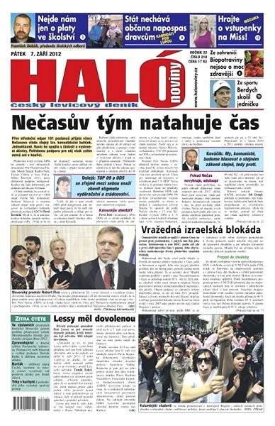 Haló noviny - 07_09_2012 - Elektronické noviny