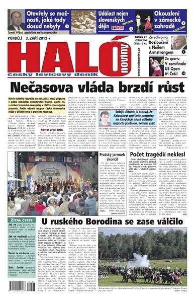 Haló noviny - 03_09_2012 - Elektronické noviny