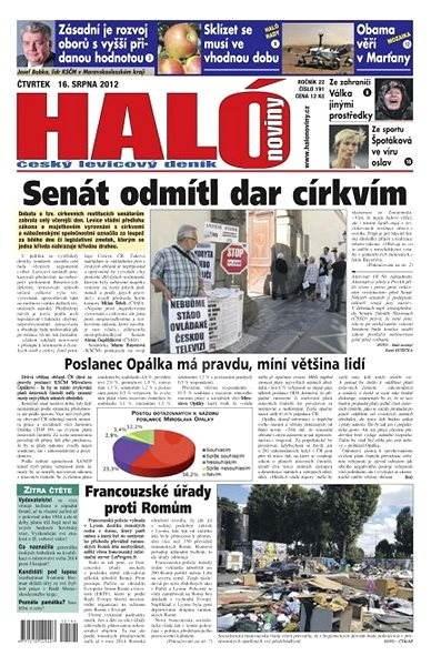 Haló noviny - 16_08_2012 - Elektronické noviny