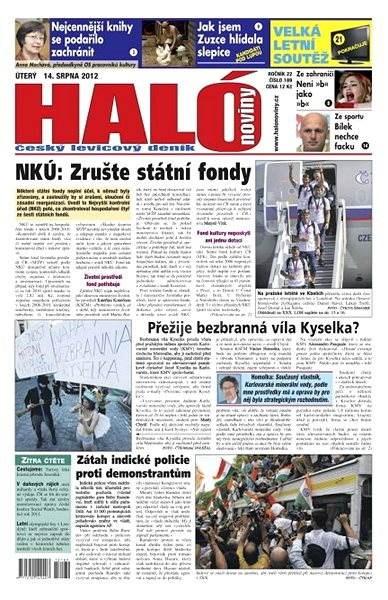Haló noviny - 14_08_2012 - Elektronické noviny
