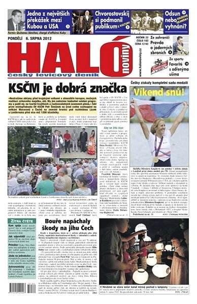 Haló noviny - 06_08_2012 - Elektronické noviny
