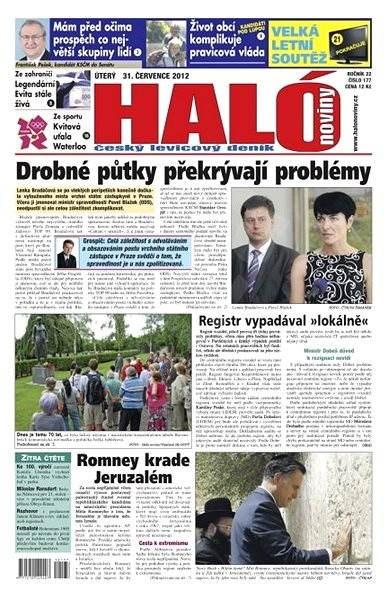 Haló noviny - 31_7_2012 - Elektronické noviny