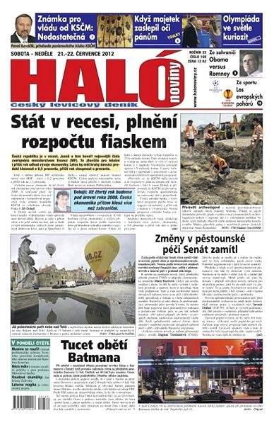 Haló noviny - 21_07_2012 - Elektronické noviny