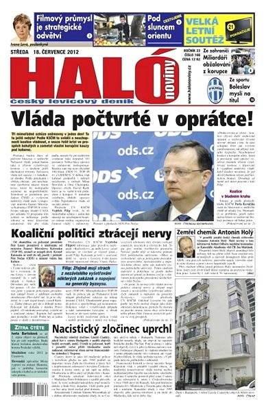 Haló noviny - 18_07_2012 - Elektronické noviny