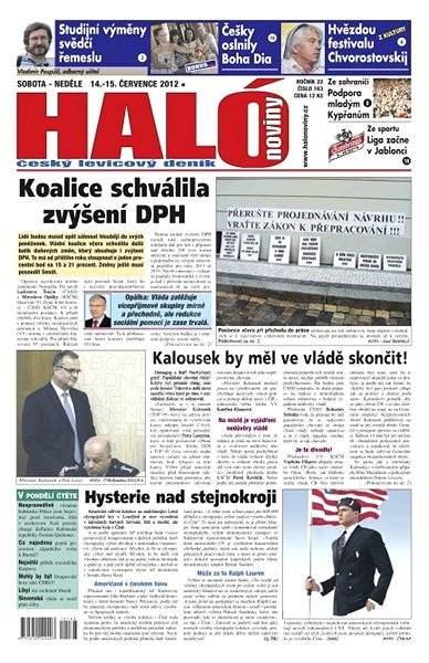 Haló noviny - 14_07_2012 - Elektronické noviny