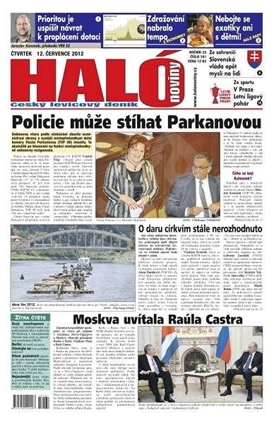 Haló noviny - 12_07_2012 - Elektronické noviny